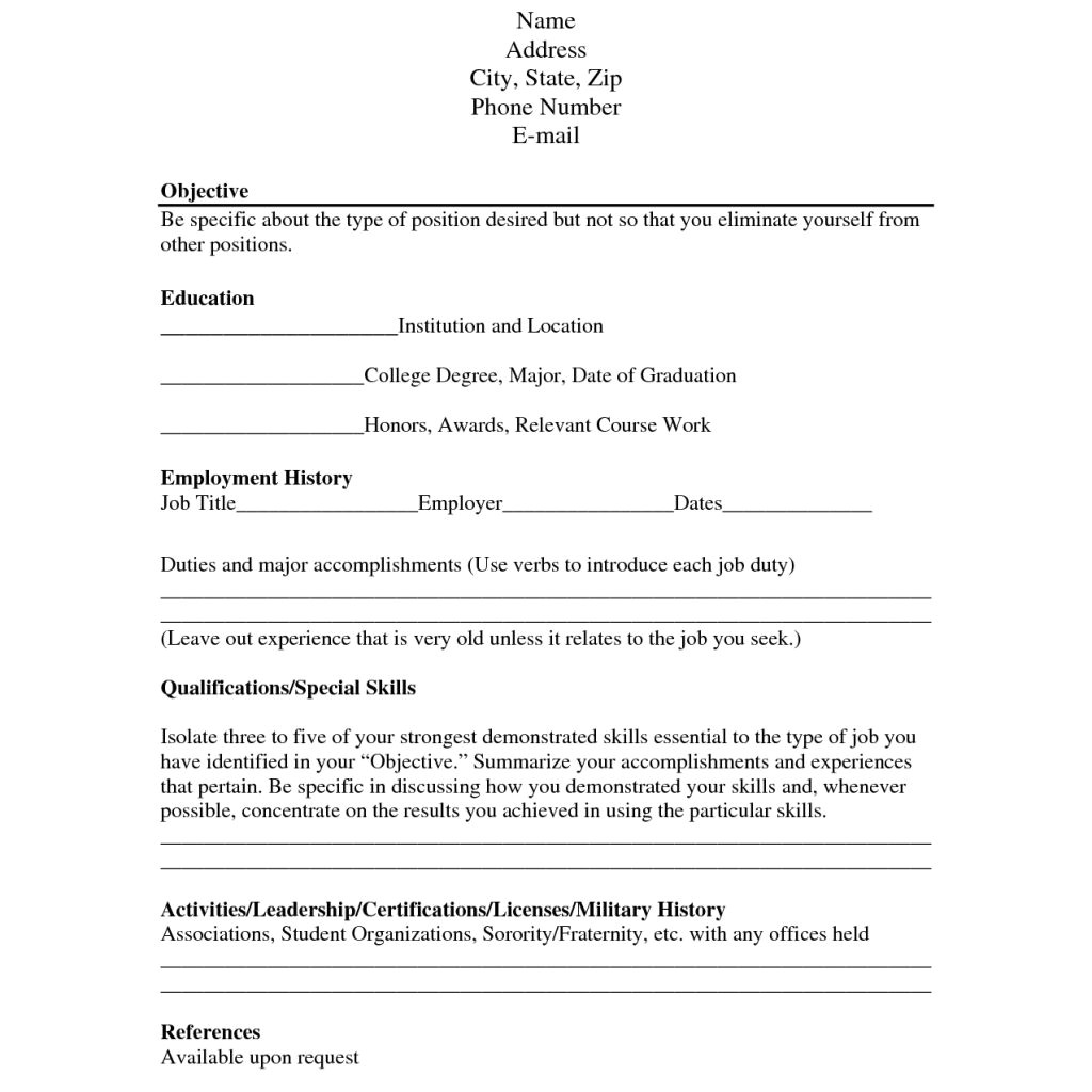 Free Resume Templates No Charge Free Resume Builder No Charge Resume Ideas