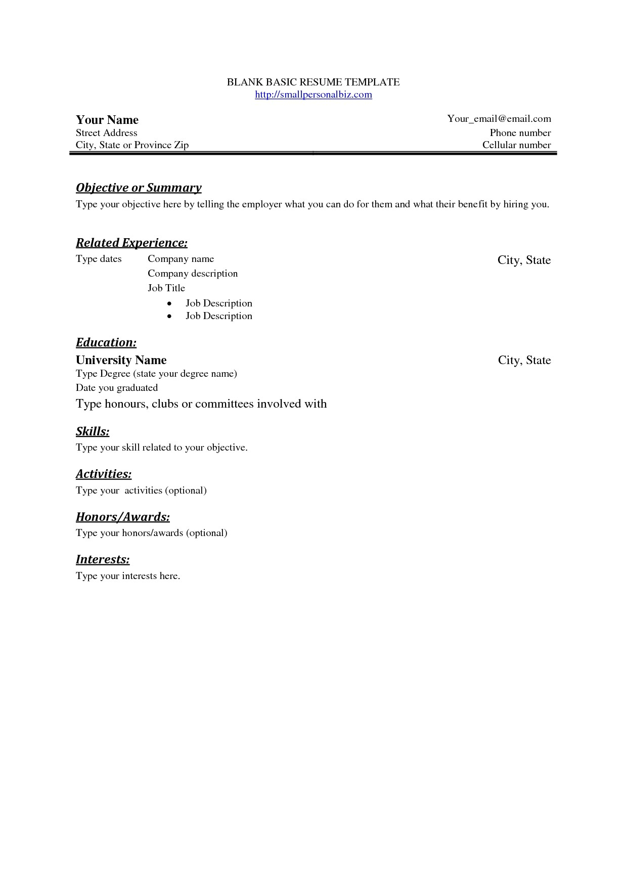 Free Resume Templates No Charge Free Resume Templates No Download Sample Resume Cover