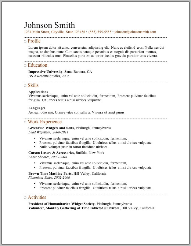 Free Savable Resume Templates Free Printable Resume Cover Letter Templates Cover