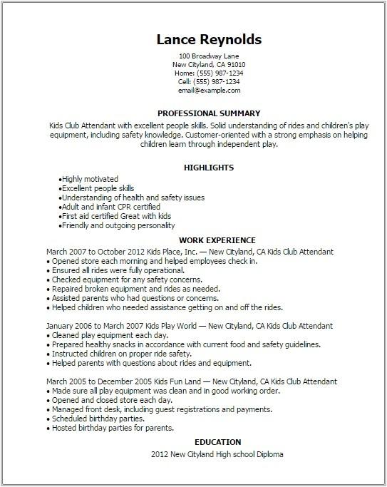 11781 free printable resume templates