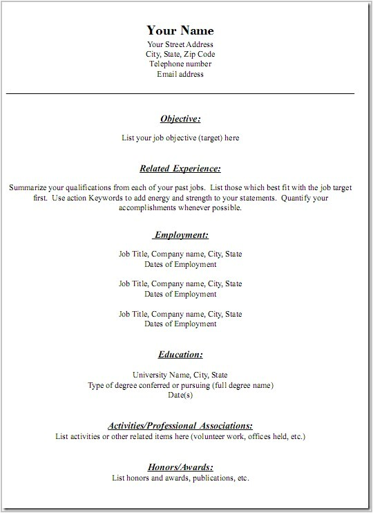 Free Savable Resume Templates Printable Cover Letter Templates Free Cover Letter