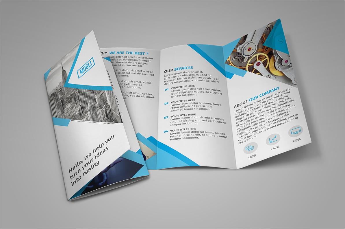 free brochure mockups and templates