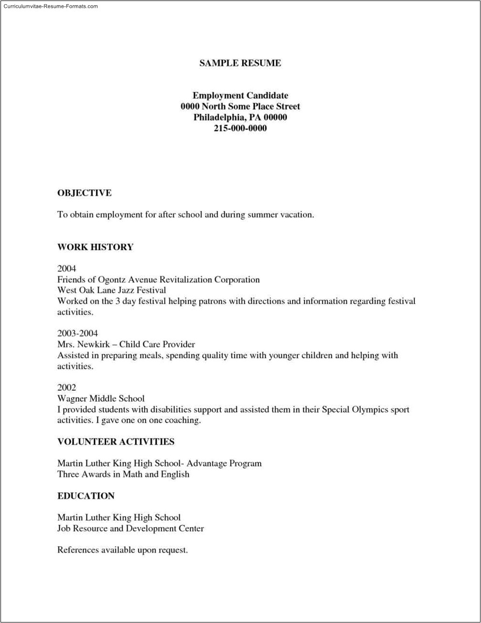 Free Templates for Resumes to Print Free Printable Resumes Templates Free Samples Examples