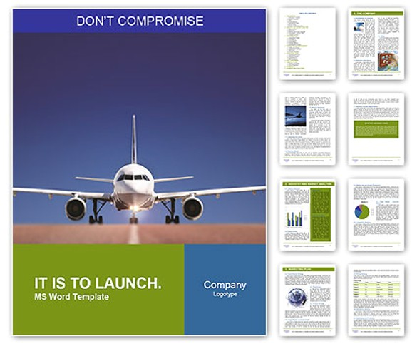 word travel brochure