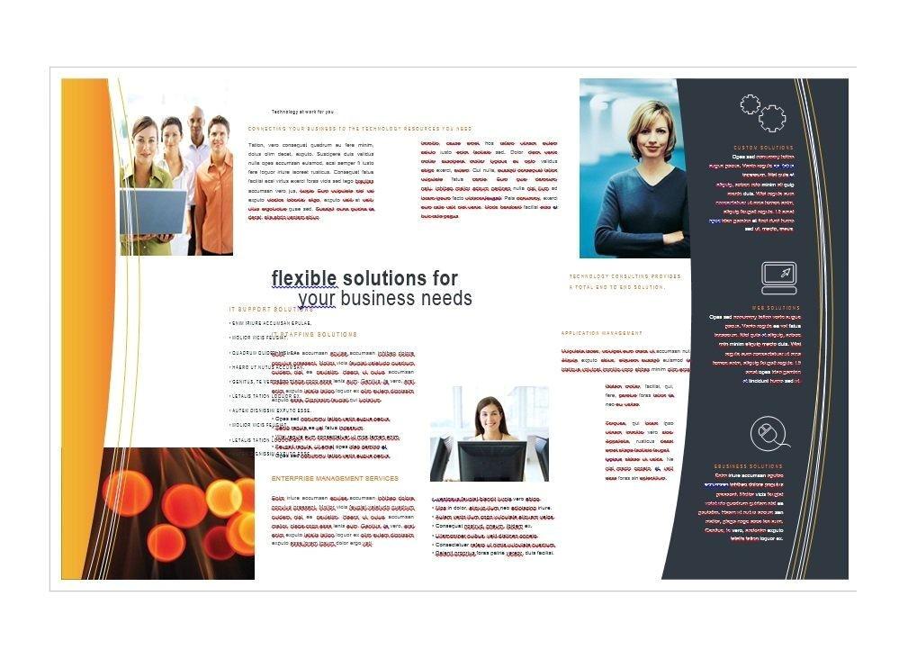 travel brochure examples pdf