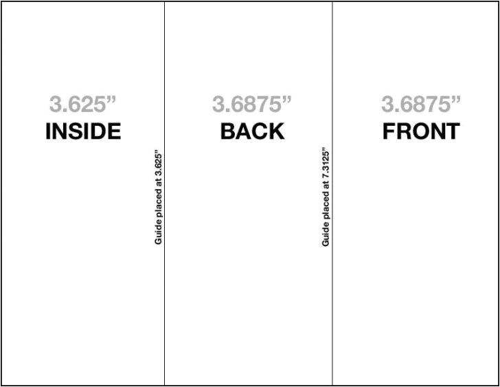 tri fold brochure ai template