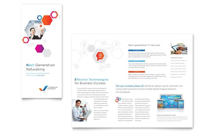 free tri fold brochure templates
