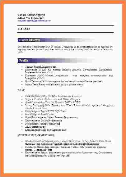 Fresher Resume Sample In Usa 12 Fresher Resume Usa Statement Synonym