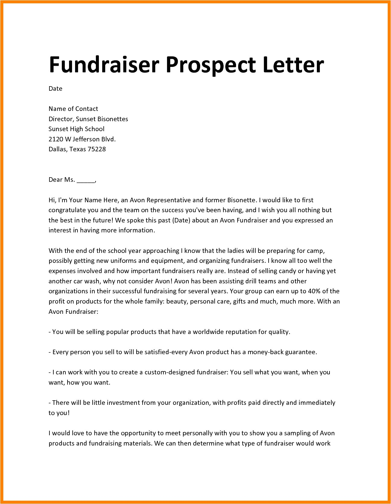 Fundraising Consultant Proposal Template Fundraising Proposal Sample It Ready Portray Meanwhile