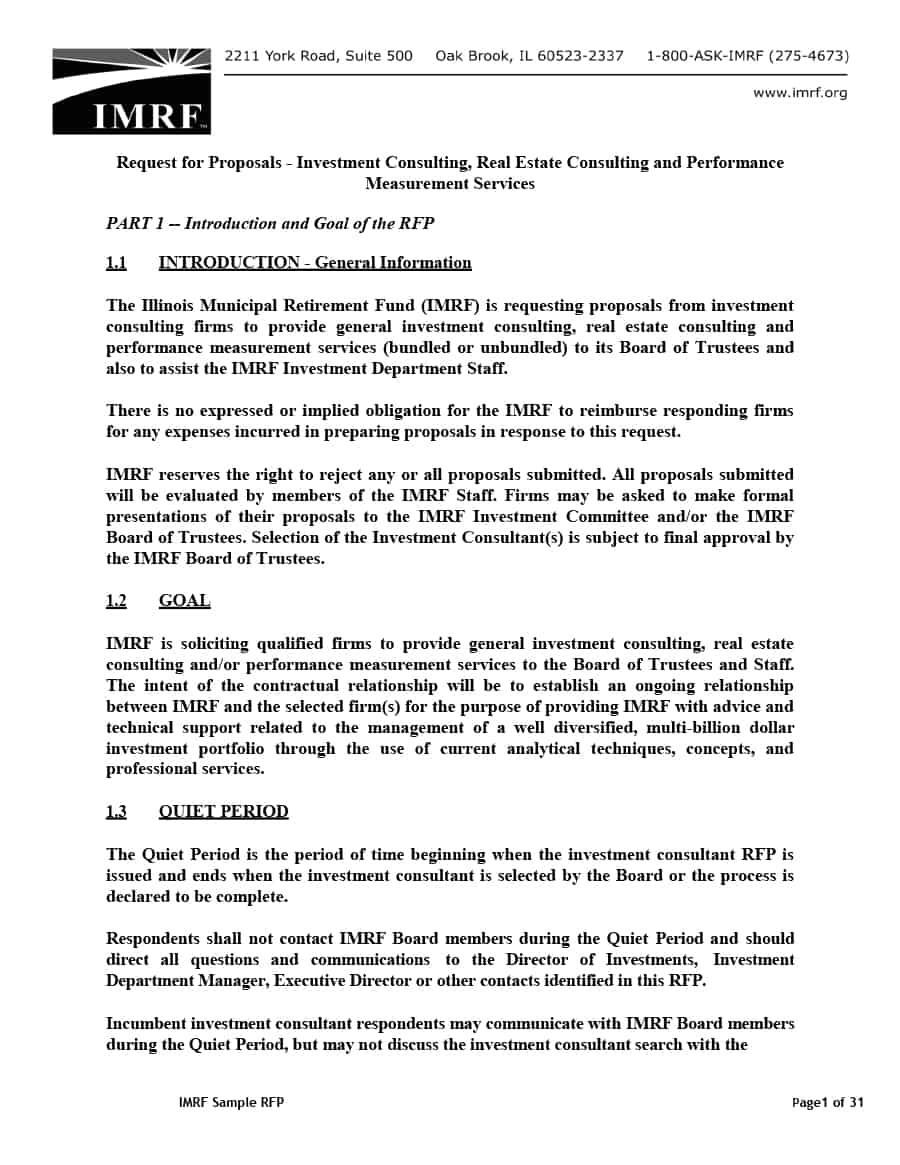 board proposal template