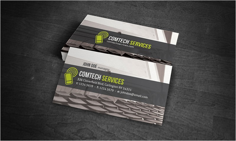 computer business cards