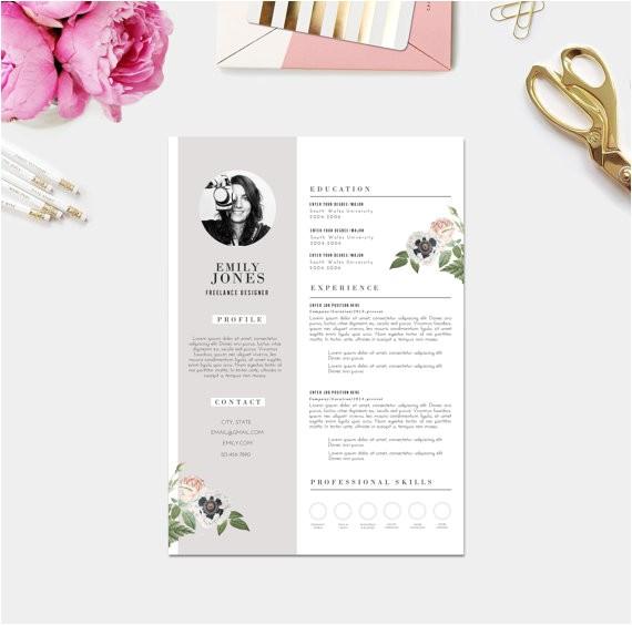 Girly Resume Templates 11 Dazzling Creative Resume Templates