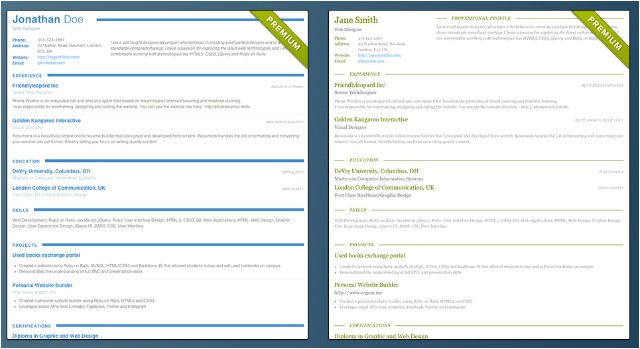 Google Chrome Resume Templates Create Professional Resumes with A Resumonk Lifetime Plan