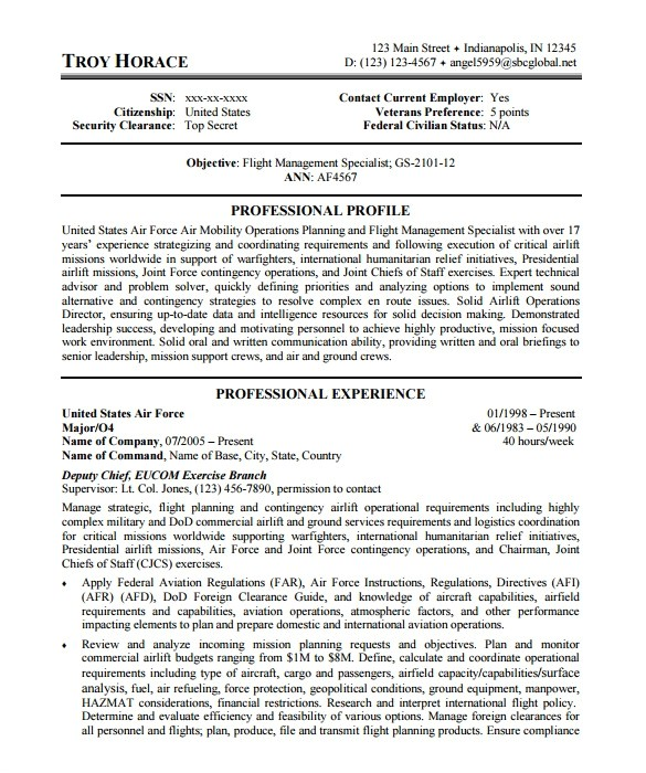 Government Resume Templates Federal Resume Template Health Symptoms and Cure Com