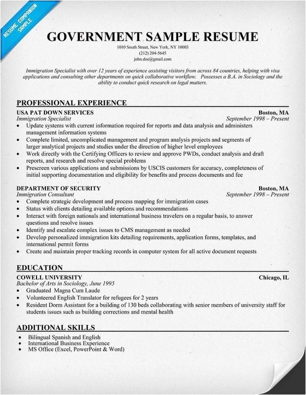 usa jobs resume builder