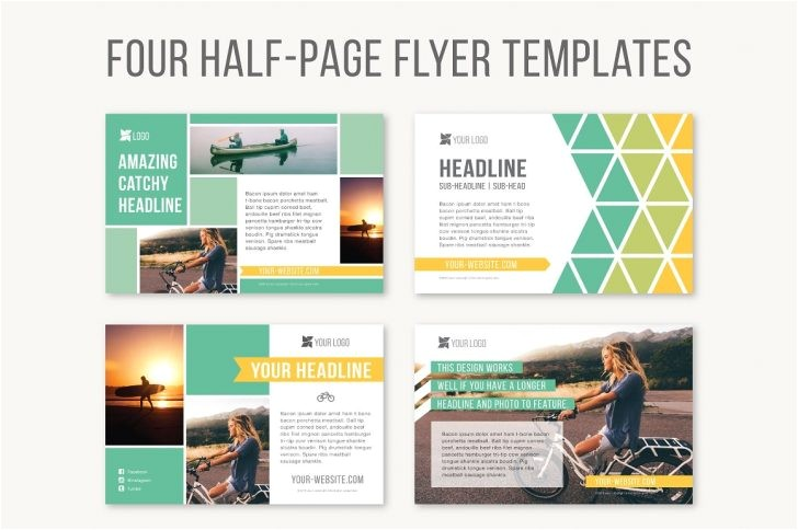 2 fold brochure template free download