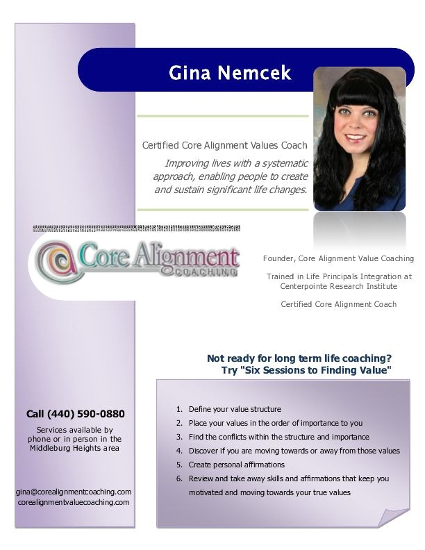 post business life coaching flyer 273130