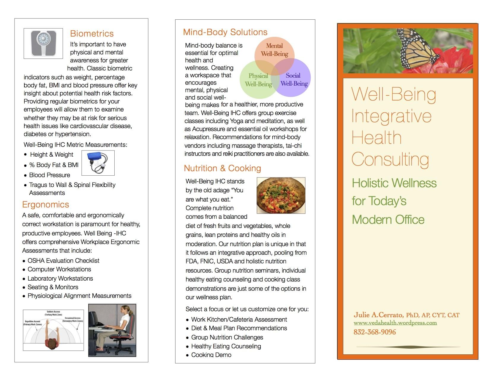 workplace brochure