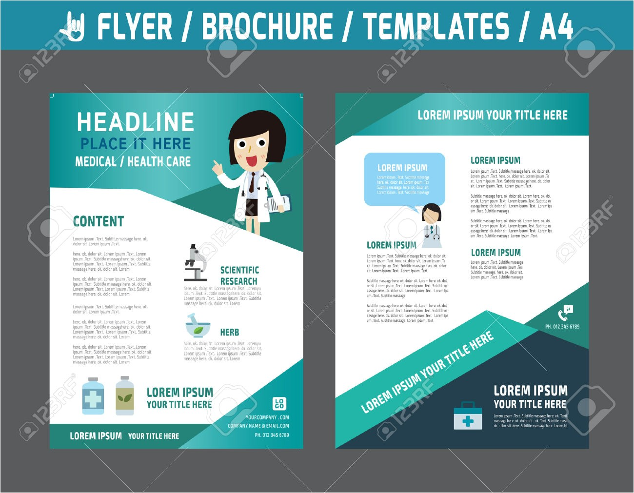 healthcare brochure templates free download 6