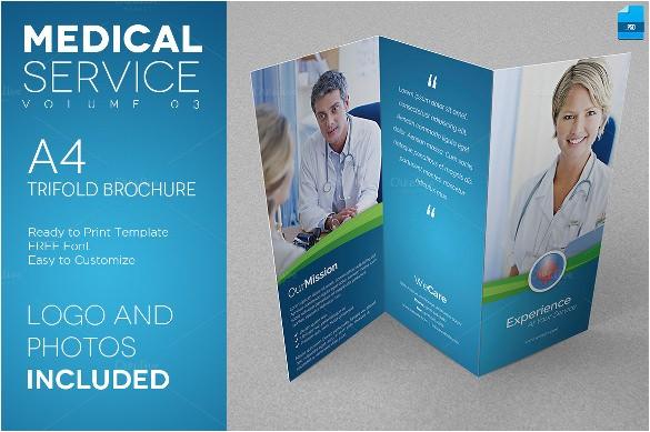 Healthcare Brochure Templates Free Download Medical Brochure Templates 41 Free Psd Ai Vector Eps