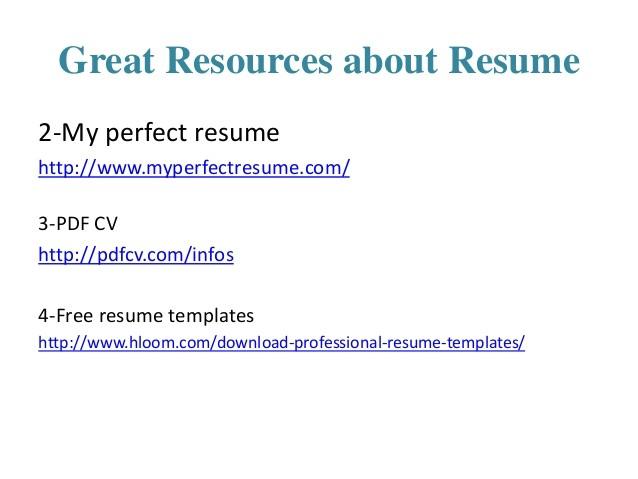 resume branding 46786188