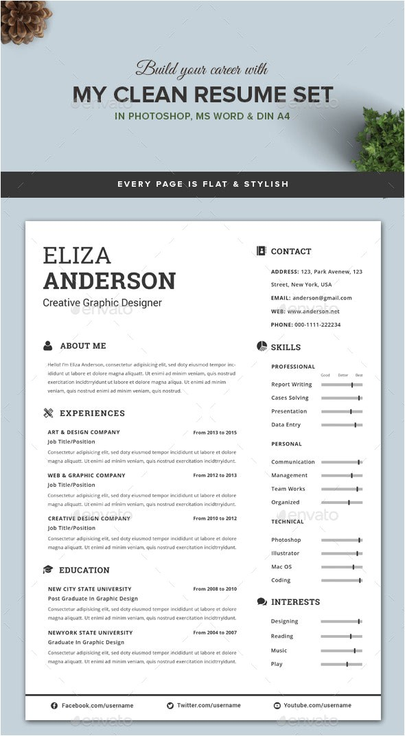 How to Create A Resume Template On Word Personalize A Modern Resume Template In Ms Word