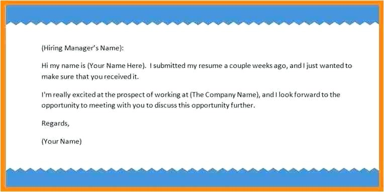 mail for sending resume to hr