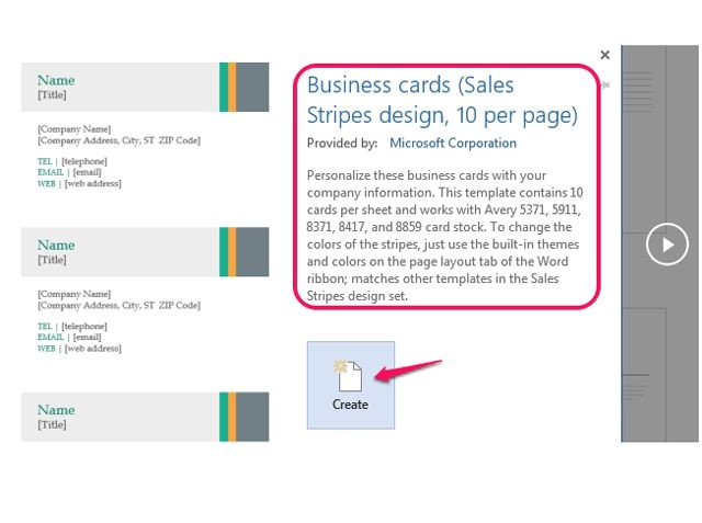 How to Use Avery Business Card Templates In Word How to Make Business Cards In Microsoft Word Ehow