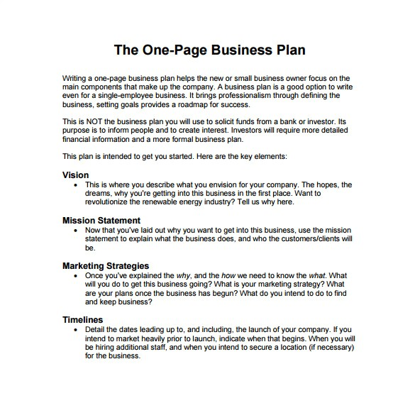 How to Write A Good Business Plan Template 19 Business Plan Templates Free Sample Example format