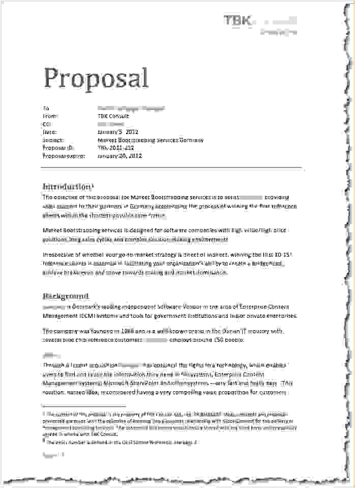 8 how to write a proposal for work