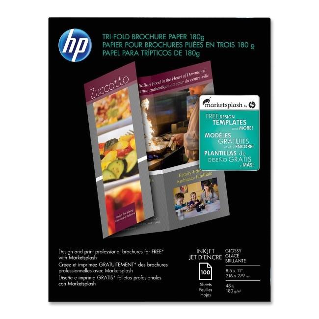 hp brochure templates