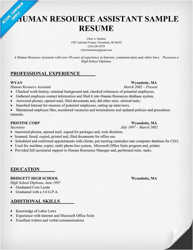4583 examples human objective career resources