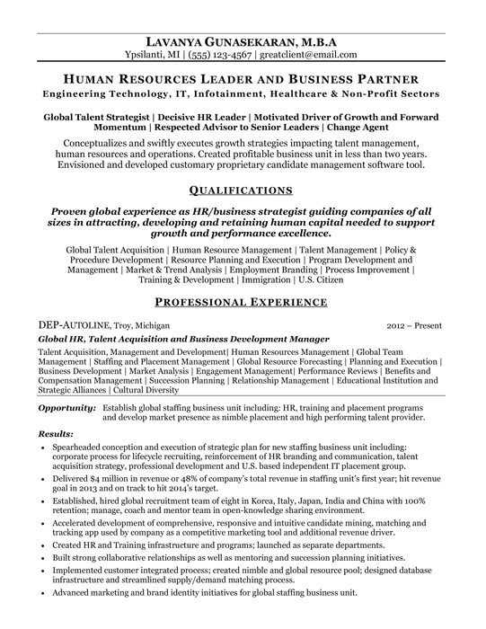 resume samples 2