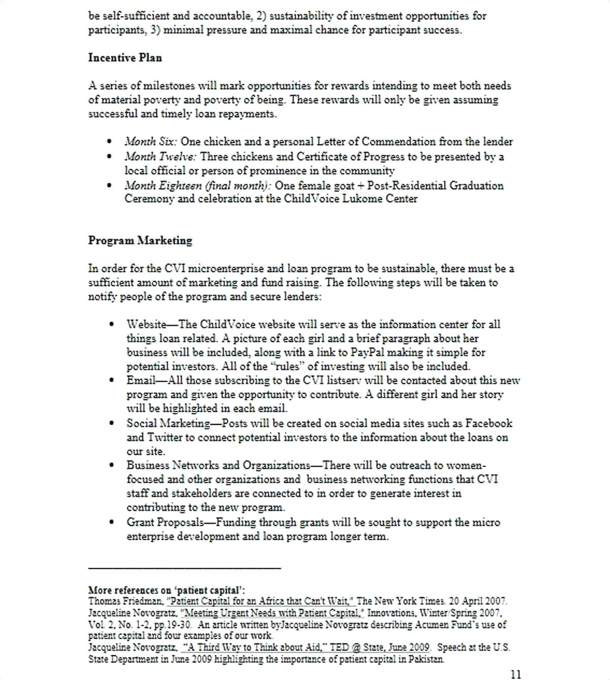 incentive letter template