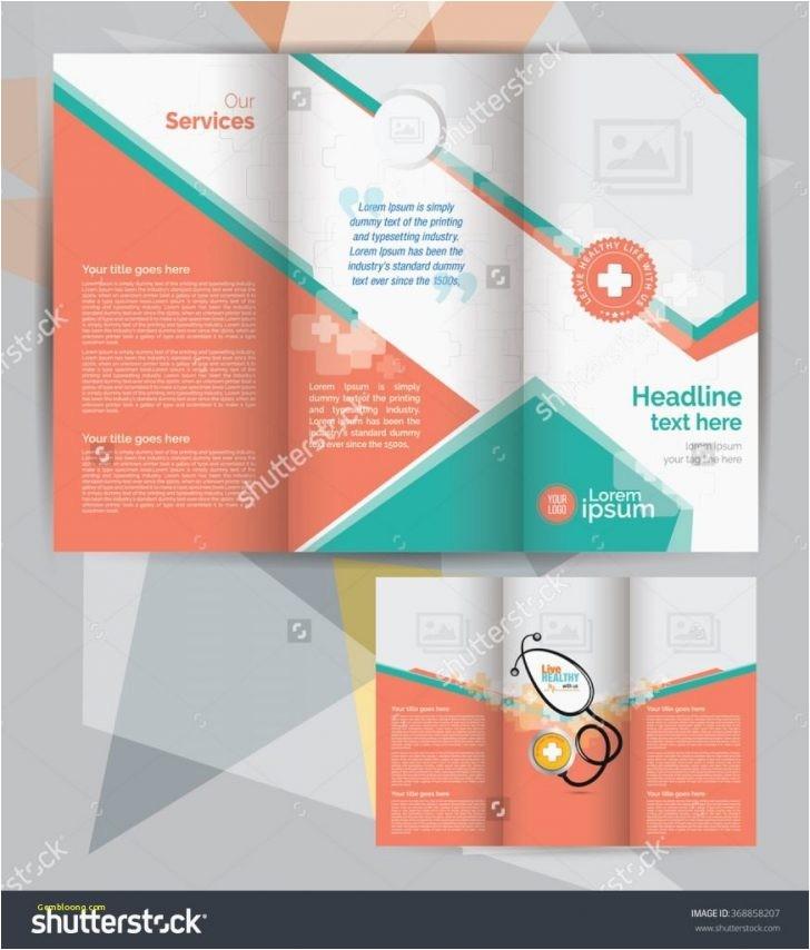 indesign brochure templates free tri fold