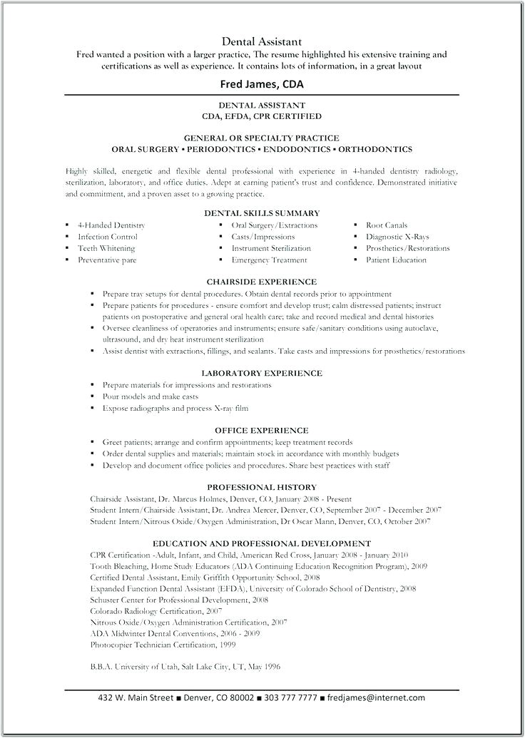 inexperienced dental assistant resume entry level dental assistant resume resume examples for teens