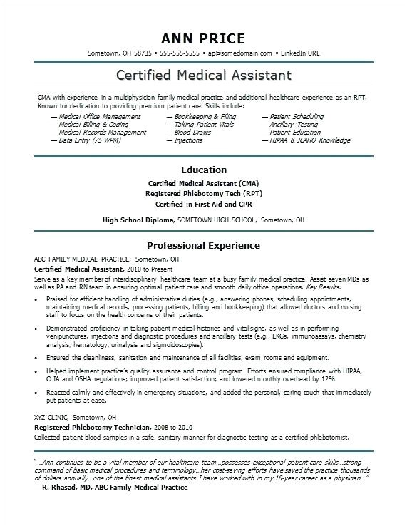 inexperienced dental assistant resume