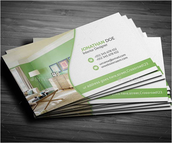 Interior Design Business Cards Templates Free 10 Awesome Interior Design Business Cards Freecreatives