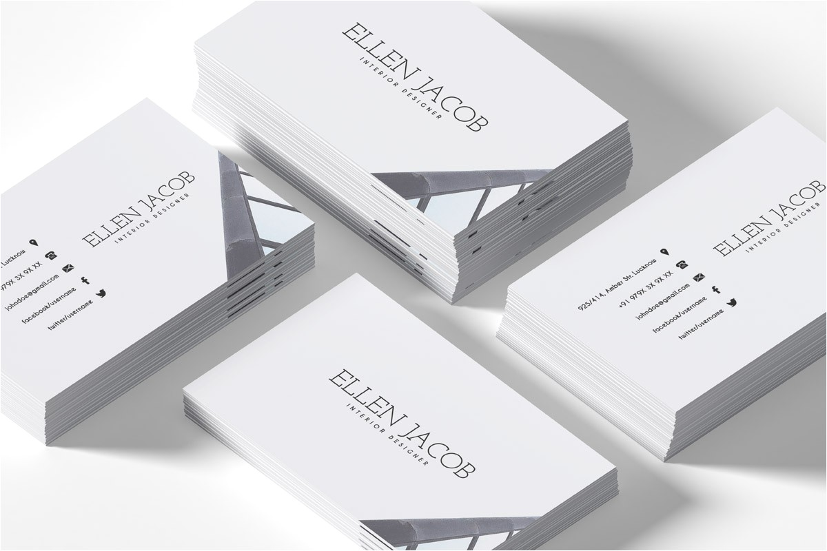 Interior Design Business Cards Templates Free Free Interior Design Business Card Template Creativetacos