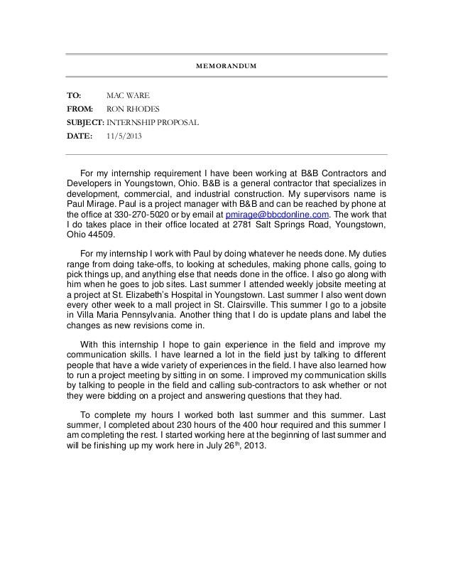 internship proposal 27936824