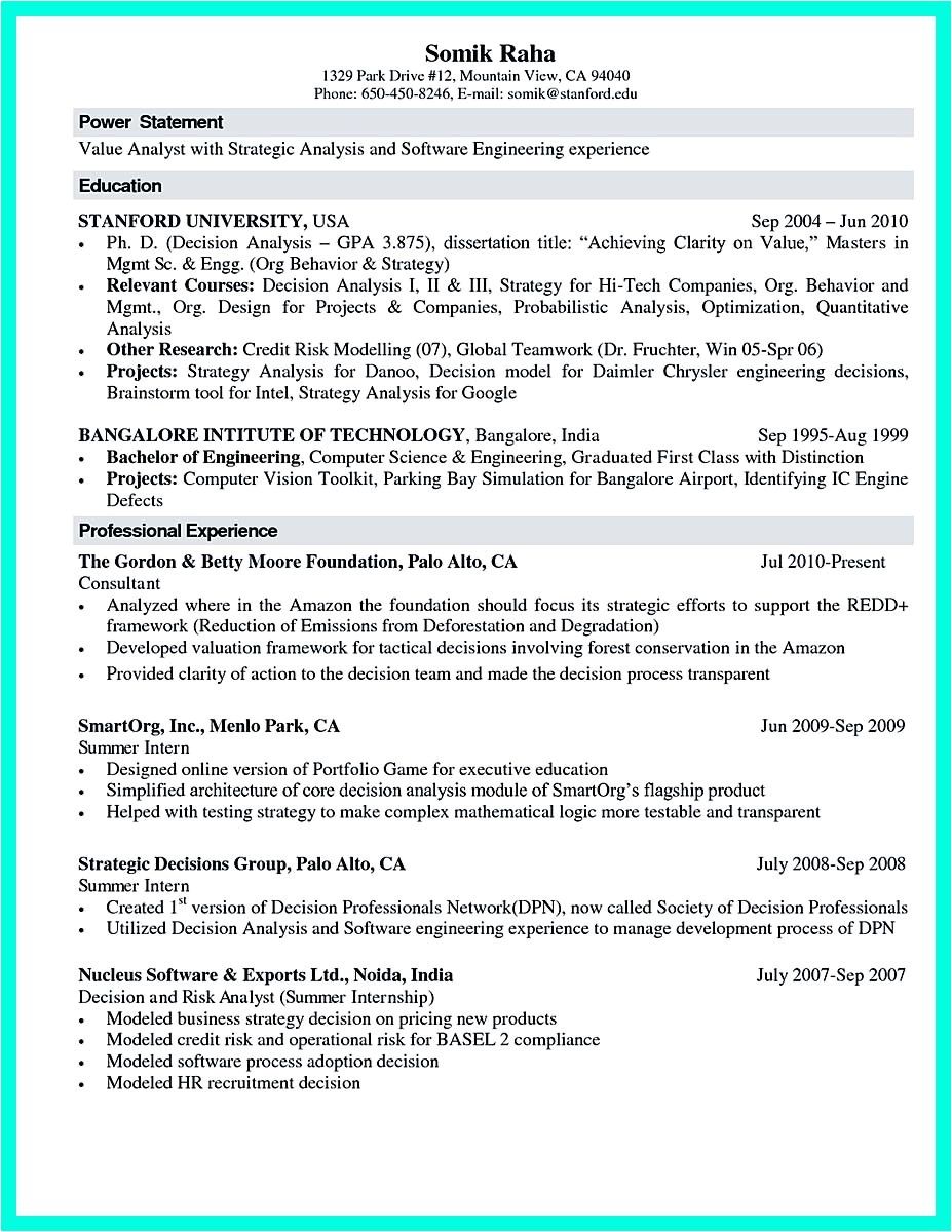 Internship Resume Samples for Computer Science the Best Computer Science Resume Sample Collection