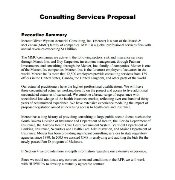 It Consulting Proposal Template Consulting Proposal Template Cyberuse