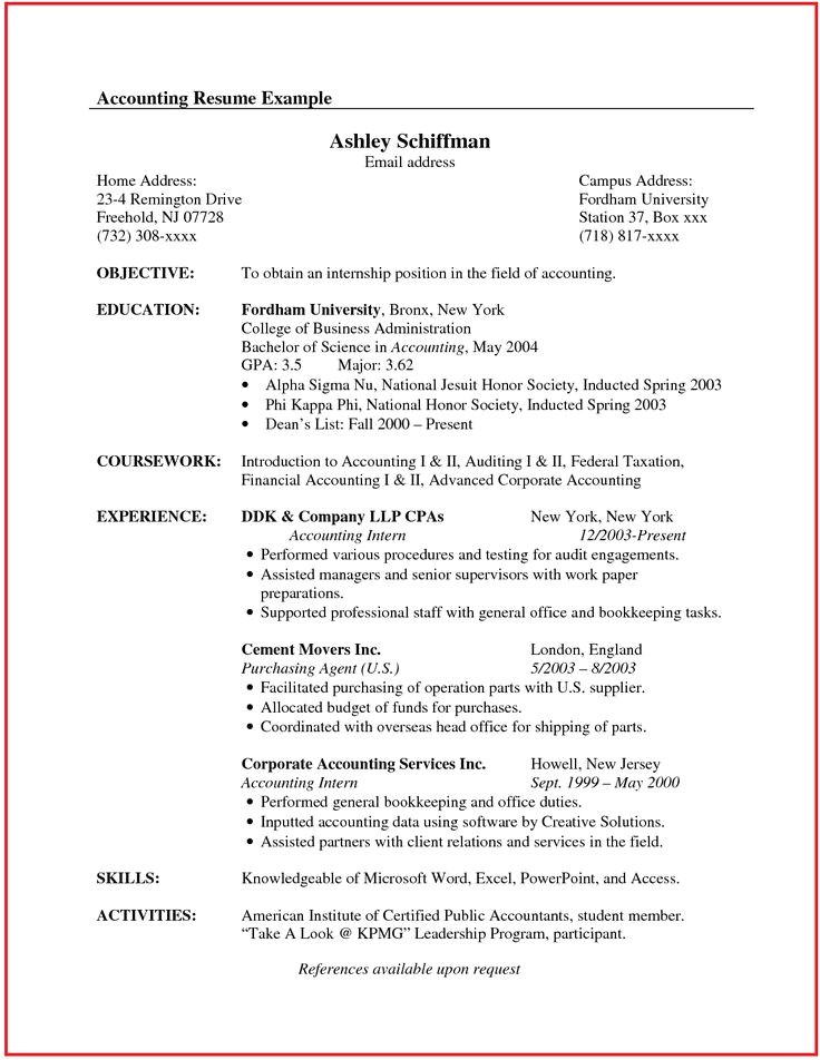 It Resume Sample Canada Accountant Resume Sample Canada Http Www Jobresume