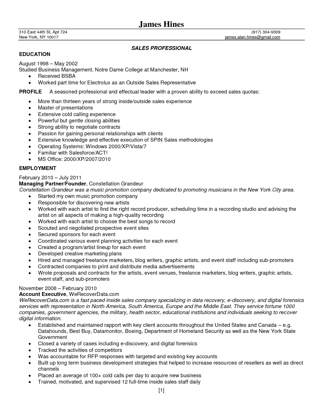 Jeweler Resume Sample Sample Resume for Jewelry Sales associate Free Resume