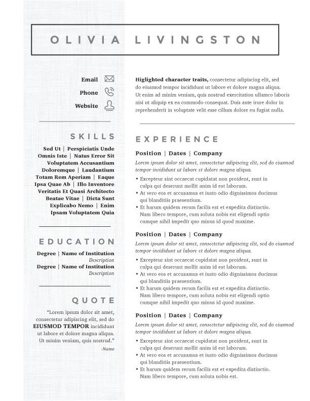 kick ass resume