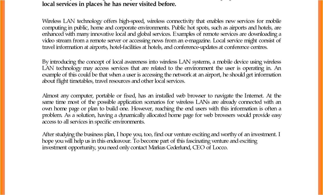 lan network proposal template