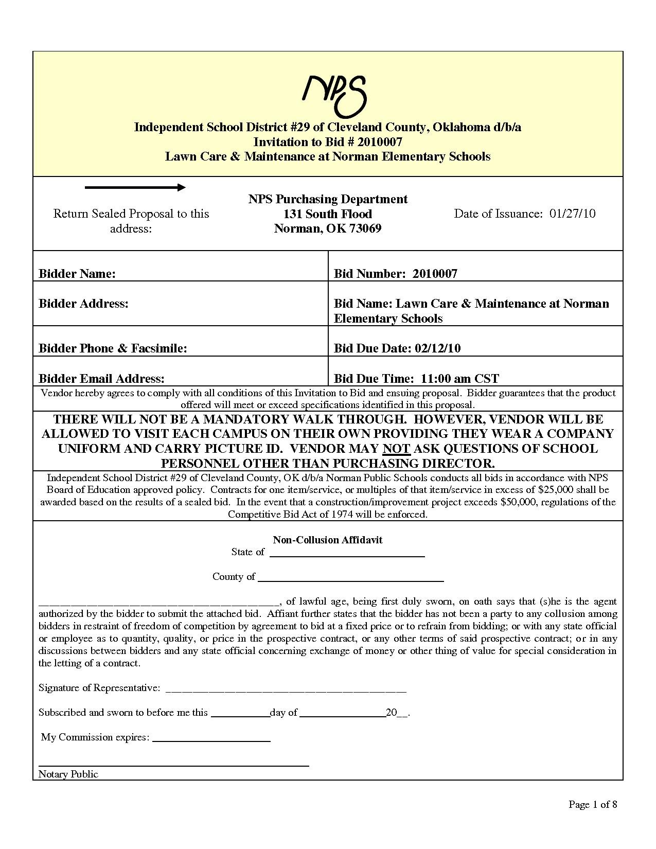 post landscape proposal form 624762