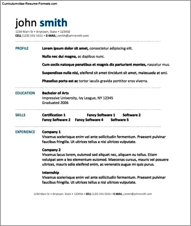 Mac Word Resume Templates Word Resume Template Mac Free Samples Examples