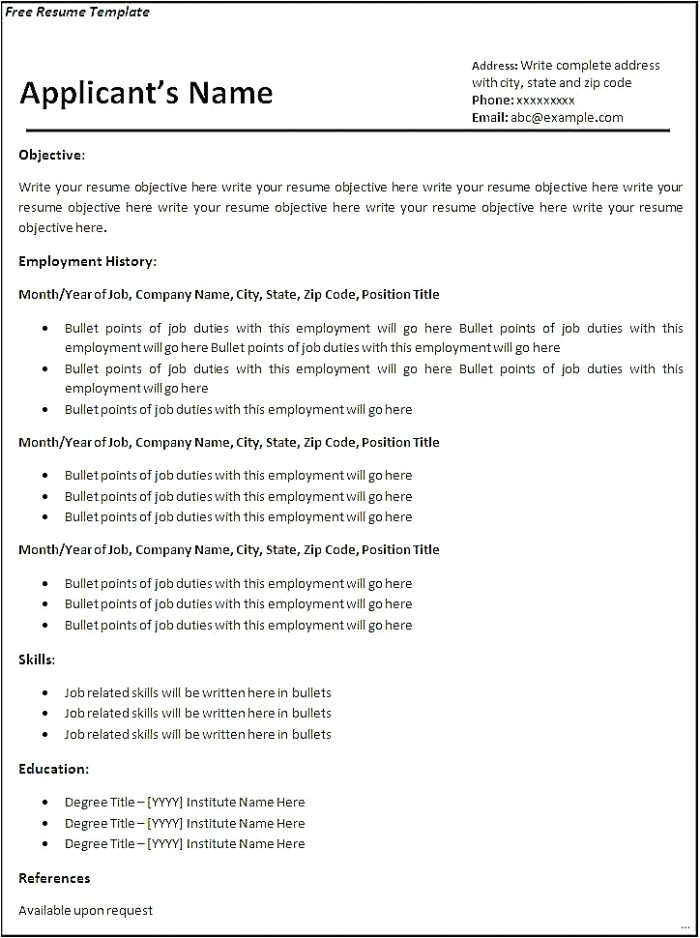 tag i want to create my own cv for free