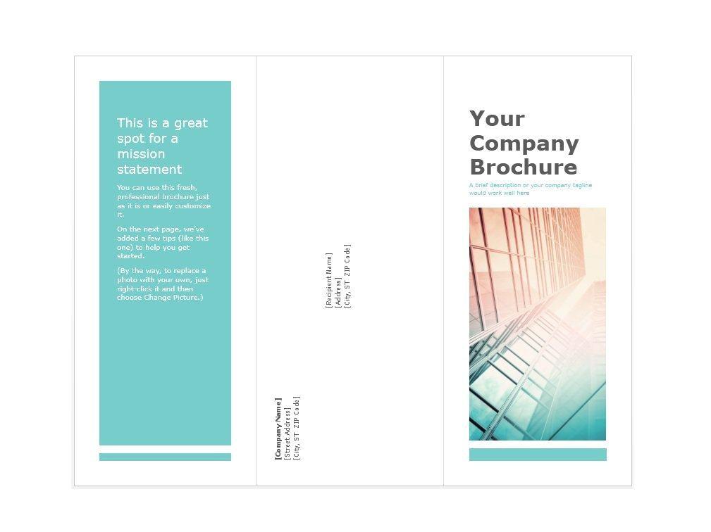 design your own brochure online